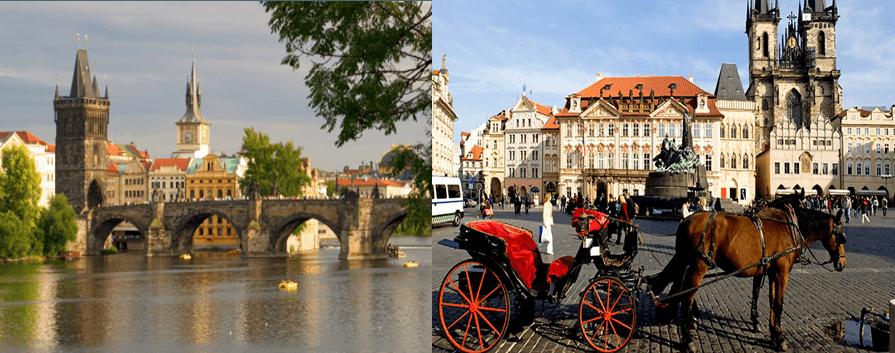 Hvorfor ikke legge neste firmatur til vakre Praha?