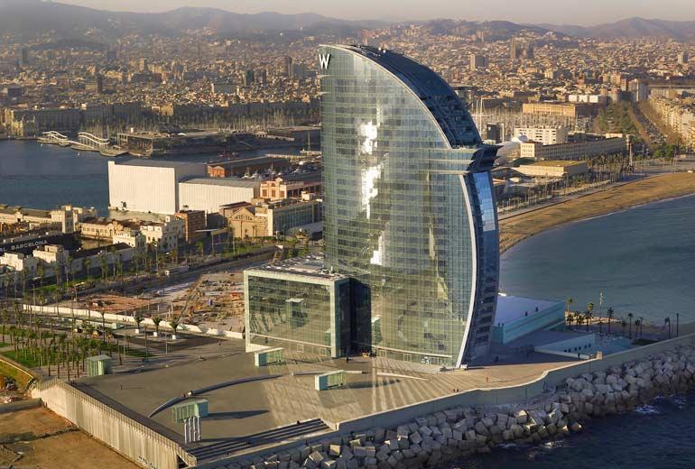Barcelona's svar på Burj Al Arab i Dubai