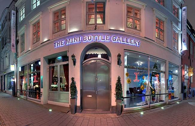 Entering The Mini Bottle Gallery you wonder if this place is real. Leaving you're still not sure…